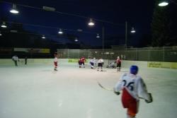 Eishockeymatch  Turnverein Urdorf : Feuerwehr Urdorf