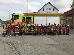 Schulklasse auf Besuch bei der Feuerwehr_1
